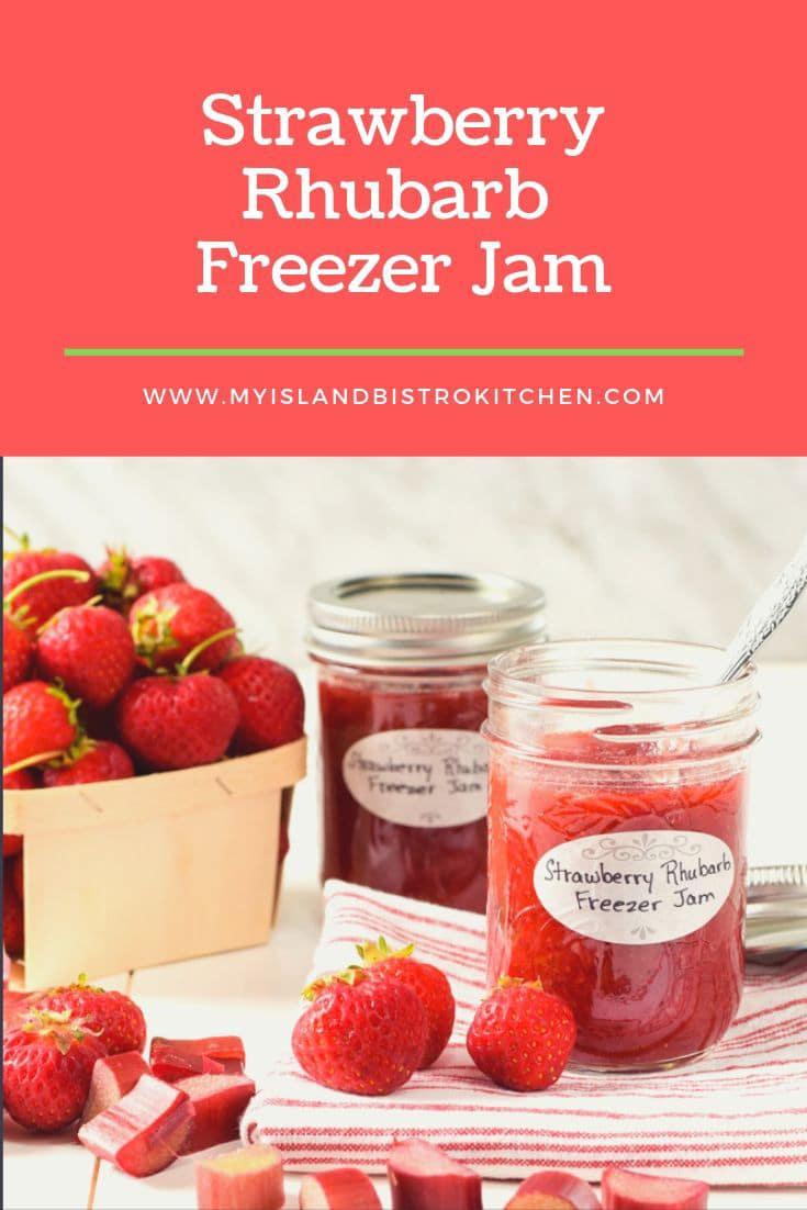 Jars of Homemade Freezer Jam