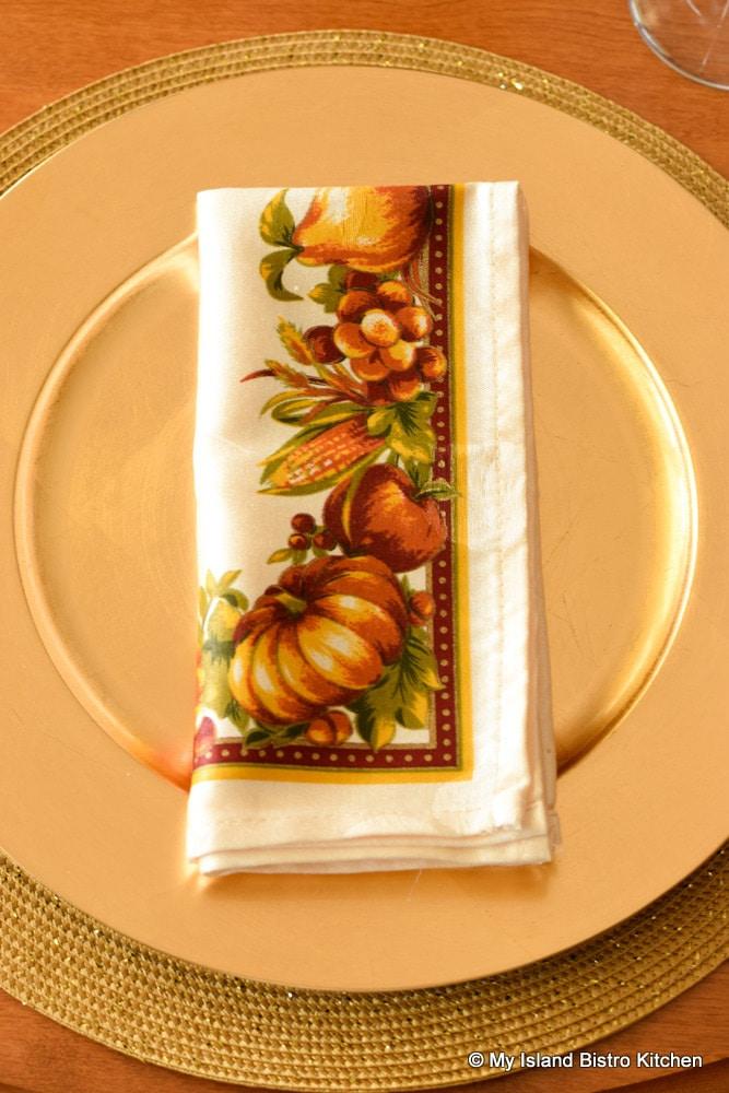 Thanksgiving Napkin
