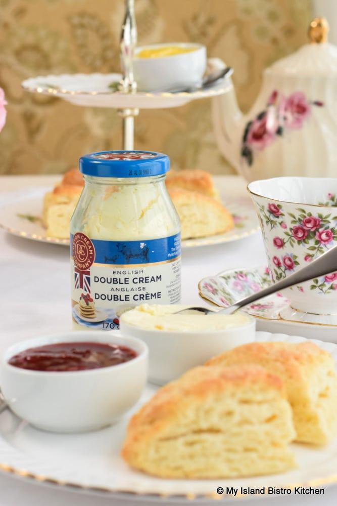 English Double Cream for Scones