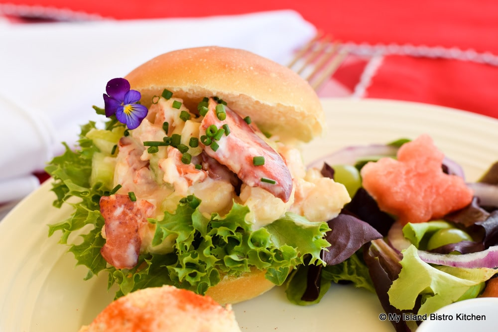 Close-up of Lobster Roll
