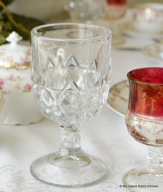 Victorian glassware