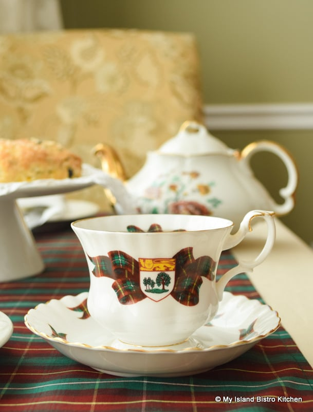 Commemorative PEI Cup and Saucer