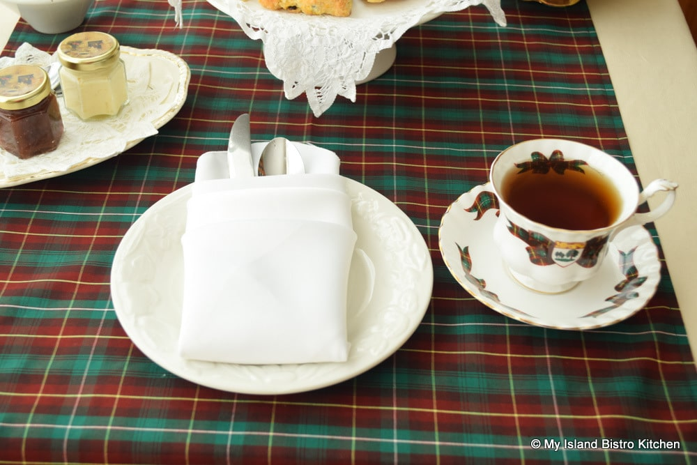 PEI Tartan Table Runner