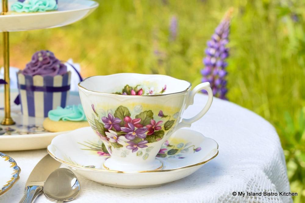 Violet Teacup