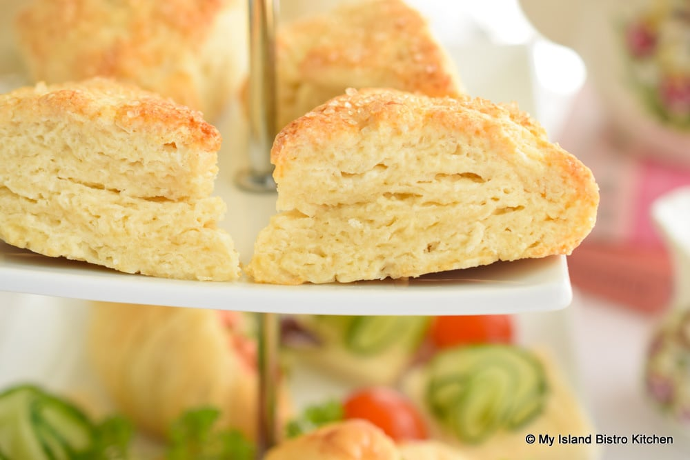 Scones on two-tiered server