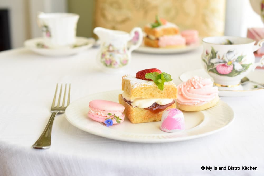 Cakes, Cookies, and Macarons for Teatime