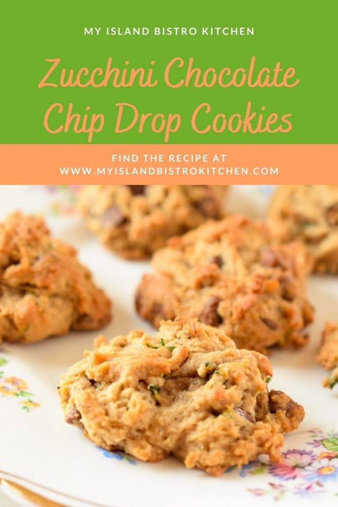 Zucchini Drop Cookies
