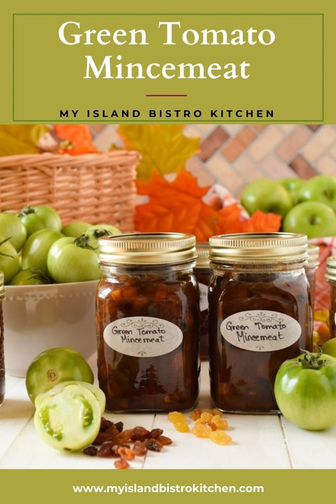 Jars of Canned Homemade Mincemeat
